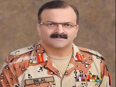 کراچی میں امن کیلئے پولیس کی قربانیاں قابل قدر ہیں: ڈی جی رینجرز