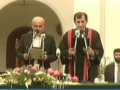 پنجاب کے نئے گورنر رفیق رجوانہ نے عہدے کا حلف اٹھا لیا