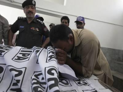 کراچی میں ایک اور پولیس افسر کو موت کے گھاٹ اتار دیا گیا