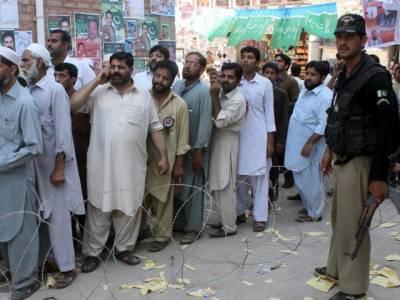 خیبر پی کے میں بلدیاتی انتخابات میں ووٹوں کی گنتی جاری