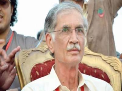 بدنظمی کے واقعات الیکشن کمیشن کی وجہ سے ہوئے: پرویز خٹک