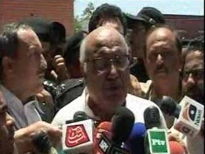 میاں افتخار حسین کو ایک روزہ جوڈیشل ریمانڈ پر پولیس کے حوالے کر دیا گیا