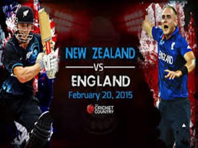 نیوزی لینڈ اور انگلینڈ کے درمیان ون ڈے سیریز کا پانچواں اور فیصلہ کن میچ آج کھیلا جائے گا