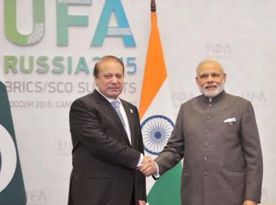 پاک بھارت وزرائے اعظم کی ملاقات.تجارت کے فروغ اور دہشت گردی کے خاتمے پر بات چیت کی گئی
