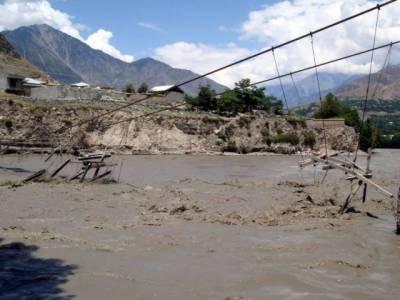 گلگت بلتستان اور چترال میں سیلاب کی تباہ کاریاں جاری ہیں۔ علاقے میں ادویات اور خوراک کی قلت پیدا ہو گئی ہے ۔ پاک فوج امدادی کارروائیوں میں مصروف ہے۔