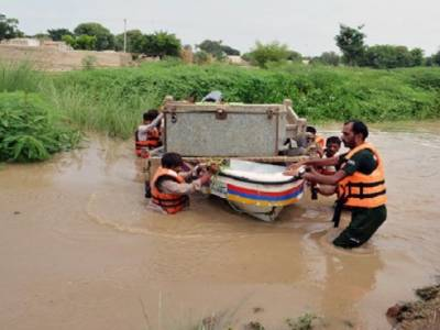 ریسکیو 1122 نے 11 ہزار سے زائد سیلاب متاثرین کو محفوظ مقامات پر منتقل کیا