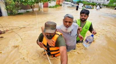 ملک میں حالیہ بارشوں اور سیلاب سے ایک درجن سے زیادہ افراد ہلاک ہوئے ہیں جبکہ متاثرین کی تعداد ساڑھے تین لاکھ سے تجاوز کر گئی:NDMA