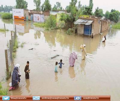 ملک بھر میں جاری مون سون بارشوں اوردریاؤں میں سیلابی صورتحال کے باعث ڈیمز میں بھی پانی کی سطح بلند ہوگئی