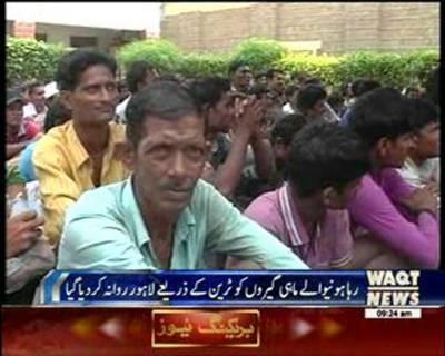 Pakistan Released Indian Fishermen