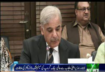 Shahbaz Sharif, World Bank MD Discuss Co,operation on Skill Development Programme