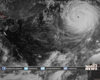 سوڈلر نامی سمندری طوفان اس وقت تائیوان کے شہر ہیلین سے190 کلو میٹر کے فاصلے پر ہے اور23 کلو میٹر فی گھنٹہ کی رفتار سے آگے بڑھ رہا ہے