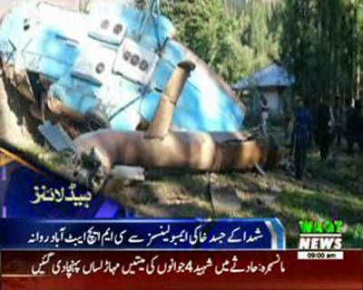 Waqtnews Headlines 09:00 AM 07 August 2015