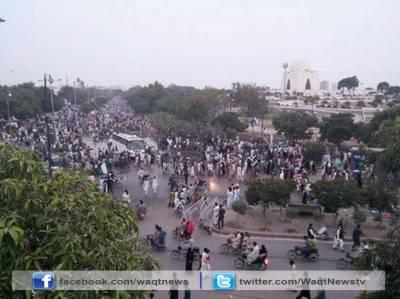 کراچی : یوم آزادی پر لوگ بے خوف گھروں سے نکلے' مزار قائد پر دو لاکھ سے زائد نے حاضری دی : ترجمان رینجرز سندھ