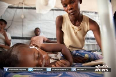 افریقی ملک جمہوریہ کانگو میں خسرے کی وبا کے باعث ہلاکتوں کی تعداد 3 سے تجاوز کرگئی
