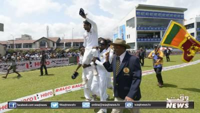 سری لنکا نے بھارت کو گال ٹیسٹ میں63رنز سے شکست دیدی
