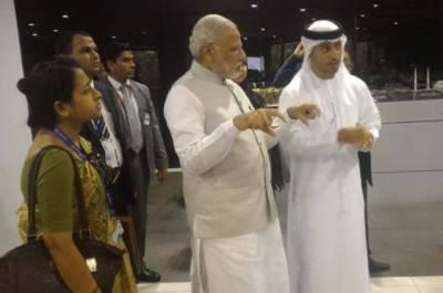 ابو ظہبی کی حکومت نے بھارت کو اپنی سرزمین پر مندر بنانے کی اجازت دے دی، فیصلہ نریندرا مودی کے دورے موقع پر ہوا۔