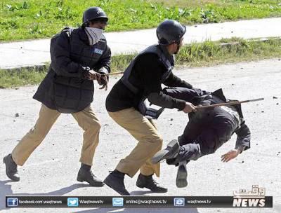 لاہور سائنس کالج میں دو طلبہ تنظیموں میں تصادم کے نتیجے میں دوافراد زخمی ہوگئے