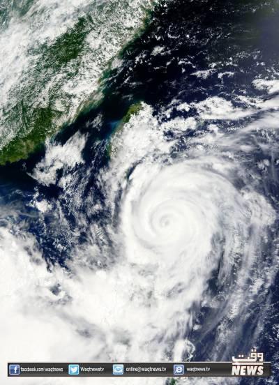 جاپان کے بعد فلپائن میں سمندری طوفان گونی نے تباہی مچا دی.15افراد ہلاک