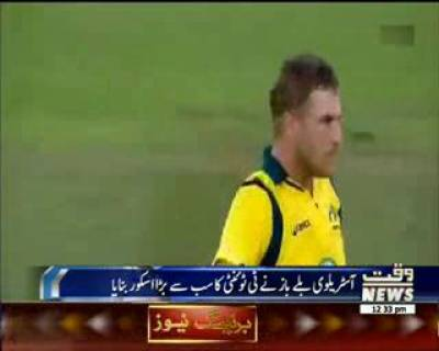 Aaron Finch's Record 153 vs England In T20I