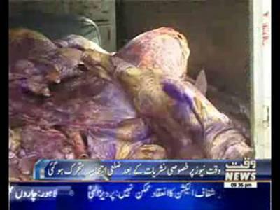 Increase of Dead meat raid in Hotels
