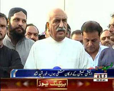 Khursheed Shah Appeals to Army Chief to 'Let the System Function'