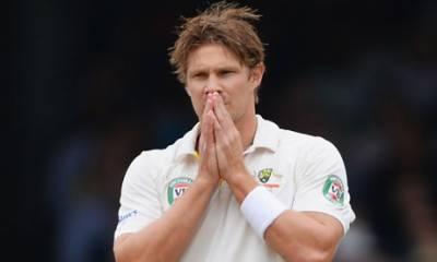 آسٹریلوی آل راؤنڈر شین واٹسن نے ٹیسٹ کرکٹ سے ریٹائرمنٹ کا اعلان