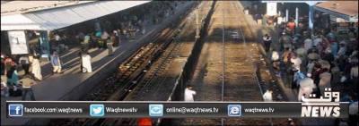 ریلوے کے ٹرین ڈرائیورز نے الاؤنسس نہ ملنے پر کراچی سے چلنے والی ٹرینوں کی آمدورفت معطل کردی
