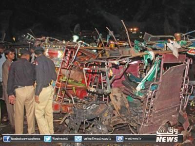 ملتان دھماکے کا ایک اور زخمی دم توڑگیا ، ہلاکتوں کی تعداد 11 جبکہ 57 افراد زخمی