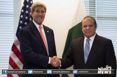مسئلہ کشمیر اقوام متحدہ کی قراردادوں کے مطابق حل کرنے کا مطالبہ دہرایا ہے:نوازشریف