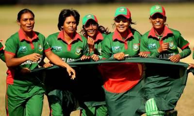 بنگلہ دیش خواتین کرکٹ ٹیم نو روزہ دورے پر پاکستان پہنچ گئی