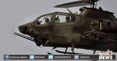 شمالی اورجنوبی وزیرستان میں جیٹ طیاروں اورگن شپ ہیلی کاپٹروں کی شیلنگ سے33 دہشتگردہلاک ہوگئے