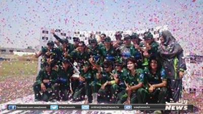 پاکستان ویمن کرکٹ ٹیم نے بنگلہ دیش کو آخری ٹی ٹوئنٹی میں34 رنز سے شکست دیکرسیریز 2 صفر سے جیت لی