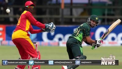 محمد رضوان اور عماد وسیم کی شاندار بیٹنگ کی بدولت پاکستان نے زمبابوے کو جیتنے کیلئے 260رنز کا ہدف دے دیا