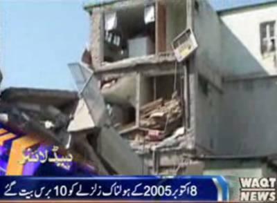 پاکستان میں8 اکتوبر د2015 کے ہولناک زلزلے نے ہزاروں افراد کی جانیں چھین لیں جبکہ لاکھوں افراد بے گھر ہوئے
