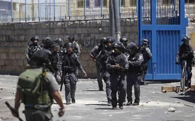 اسرائیلی سکیورٹی فورسز نے یروشلم کے عرب علاقوں میں بڑا آپریشن شروع کر دیا,جبلِ میکابر کے داخلی راستے کو بند کر دیا
