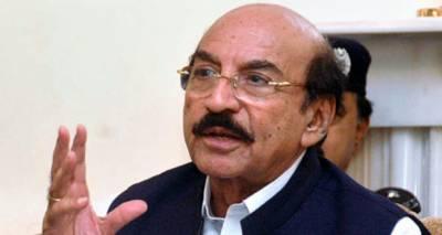 وزیراعلی سندھ قائم علی شاہ نے کراچی میں جام صادق فلائی اوور کا افتتاح کردیا