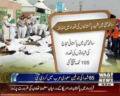 105 Died in Saniha Mina