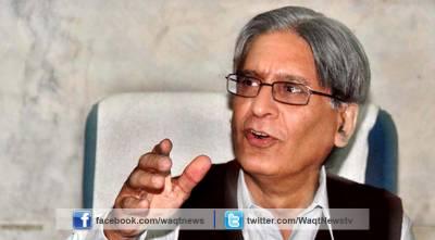 امریکہ کے دوران صرف ن لیگ نہیں بلکہ پاکستان کا وزیراعظم بن کر ڈٹ کر بات کرنی چاہیے: اعتزاز احسن