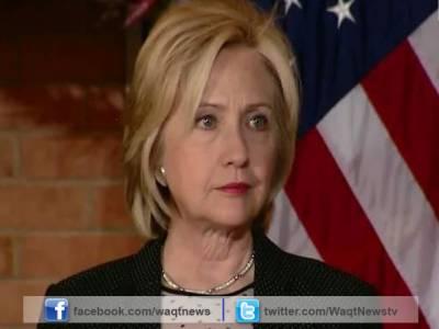 بن غازی میں امریکی قونصلیٹ پر حملے کی پوری ذمہ داری لیتی ہوں، ہیلری کلنٹن