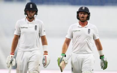 دبئی ٹیسٹ کا دوسرا روز، انگلینڈ نے پہلی اننگز میں 3 وکٹ پر 182 رنز بنا لیے