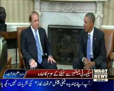 Nawaz Sharif Assures Action Against Lashkar-e-Taiba After Meeting With Barack Obama