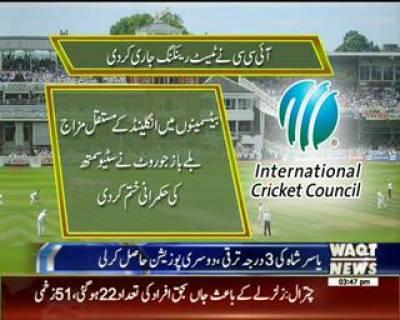 ICC New Test Ranking