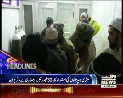 Waqtnews Headlines 01:00 PM 27 October 2015