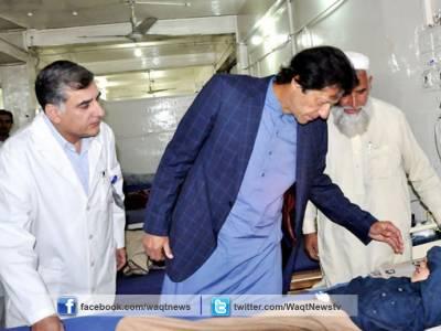 عمران خان نے وزیراعلی خیبرپی کے سے زلزلے سے متاثرہ علاقوں میں امدادی سرگرمیوں کی تفصیلات طلب کر لیں
