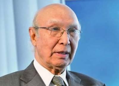 پاکستان قومی سلامتی کے امور پر کوئی سمجھوتہ نہیں کریگا :سرتاج عزیز