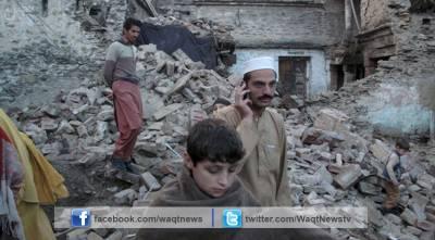 زلزلہ متاثرین پر سرد موسم بھی ستم ڈھانے لگا