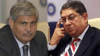 آئی سی سی کے چئیرمین سری نواسن عہدے سے فارغ, بی سی سی آئی کےصدرششانک منوہرنئےچیئرمین ہوں گے, بھارتی میڈیا کا دعویٰ