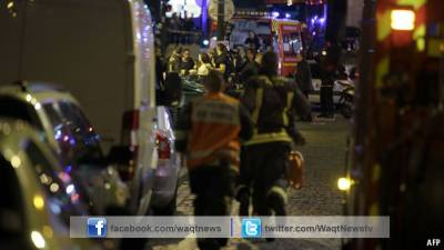 دہشتگردوں نے روشنیوں اور خوشبوؤں کے شہر پیرس کو خون میں نہلا دیا