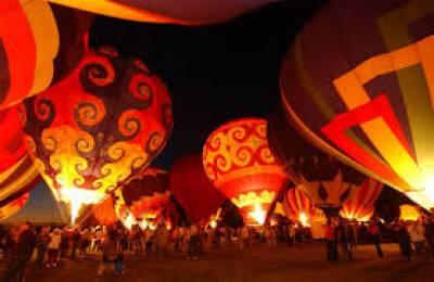 میکسیکو میں چودھواں سالانہ بیلون فیسٹیول شروع ہو گیا