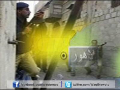 لاہور کے علاقے بادامی باغ ملک پارک میں پولیس مقابلہ, دبئی سے گرفتاراہم دہشتگرد ہارون بھٹی سمیت چار دہشتگرد مارے گئے۔
